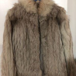 Authentic Fox Fur Coat